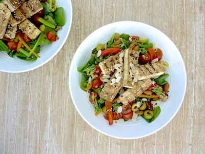Dukkah Tofu Salad