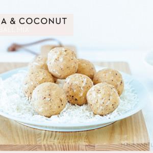 Vanilla & Coconut Protein Ball Mix