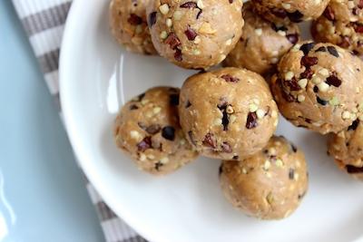 Choc-Chip Peanut Butter Protein Balls