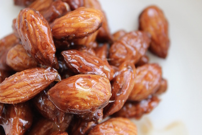 Sweet Glazed Almonds