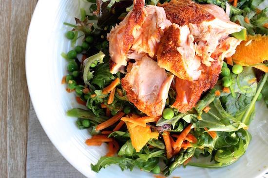 Roast Salmon & Mango Salad