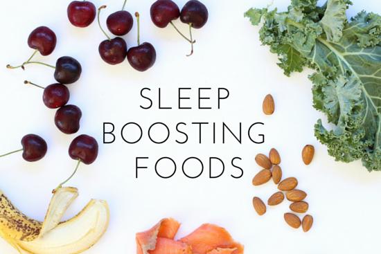 Sleep Boosting Foods