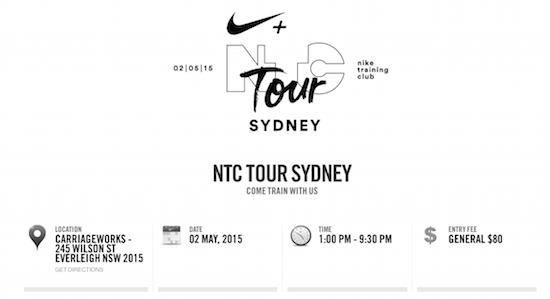 Nike NTC Tour