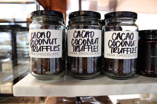 Pana Chocolate Sydney. Cacao Coconut Truffles.