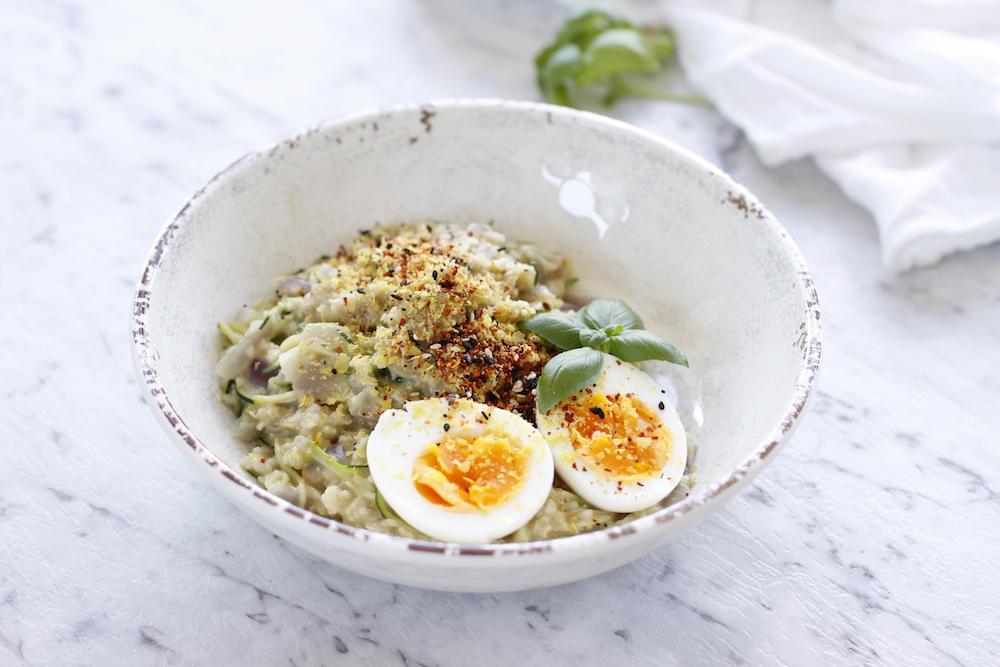 Scrumptious Savoury Porridge