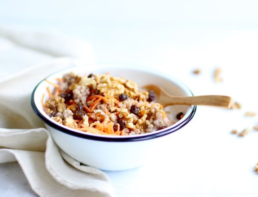 Carrot Cake Buckwheat Porridge
