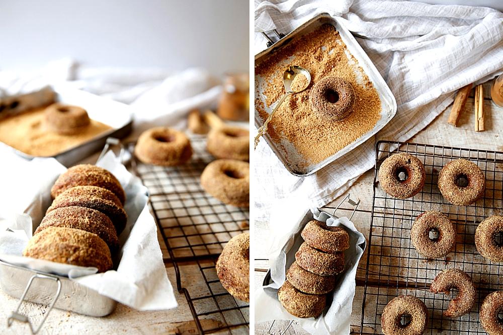 Healthy Baked Cinnamon Donuts
