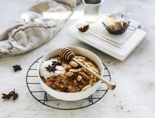 Chai Spiced Maple Porridge