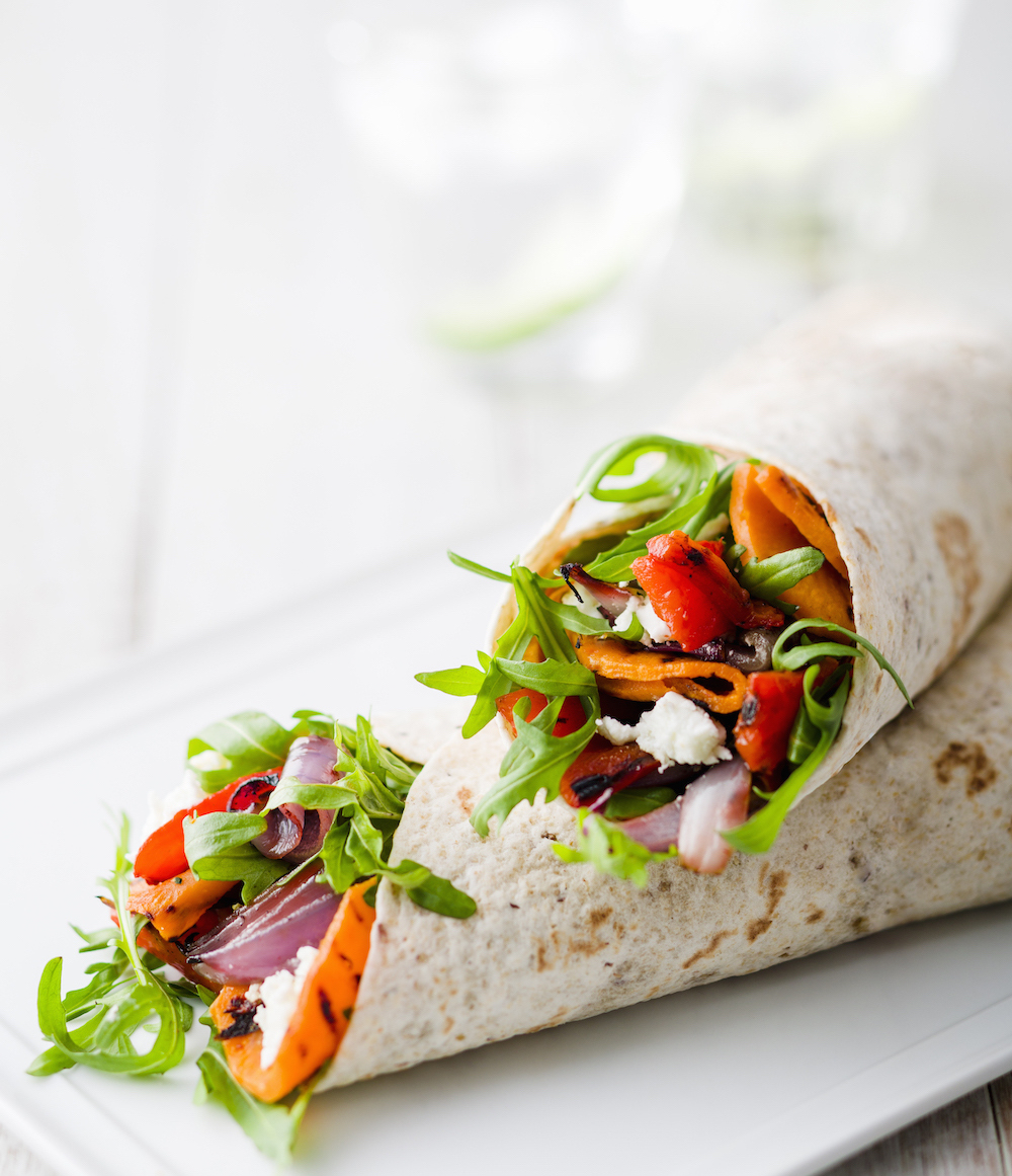 Healthy ways to wrap up lunch