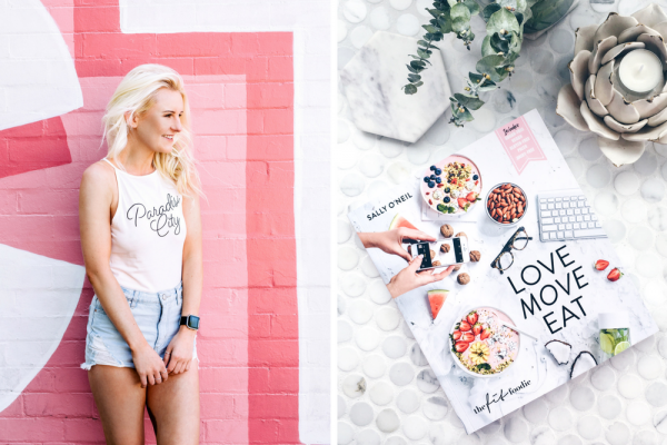 Love Move Eat book by The Fit Foodie Sally O'Neil