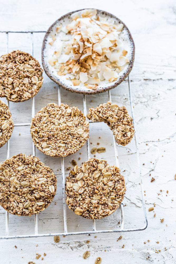 Vanilla + Coconut Cookies