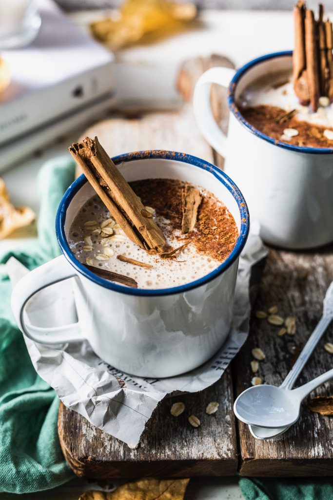 Warm Cinnamon Breakfast Smoothie