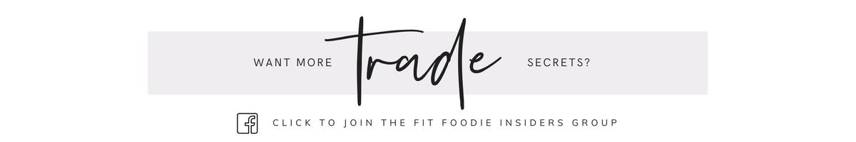 Fit Foodie Insiders Facebook Group
