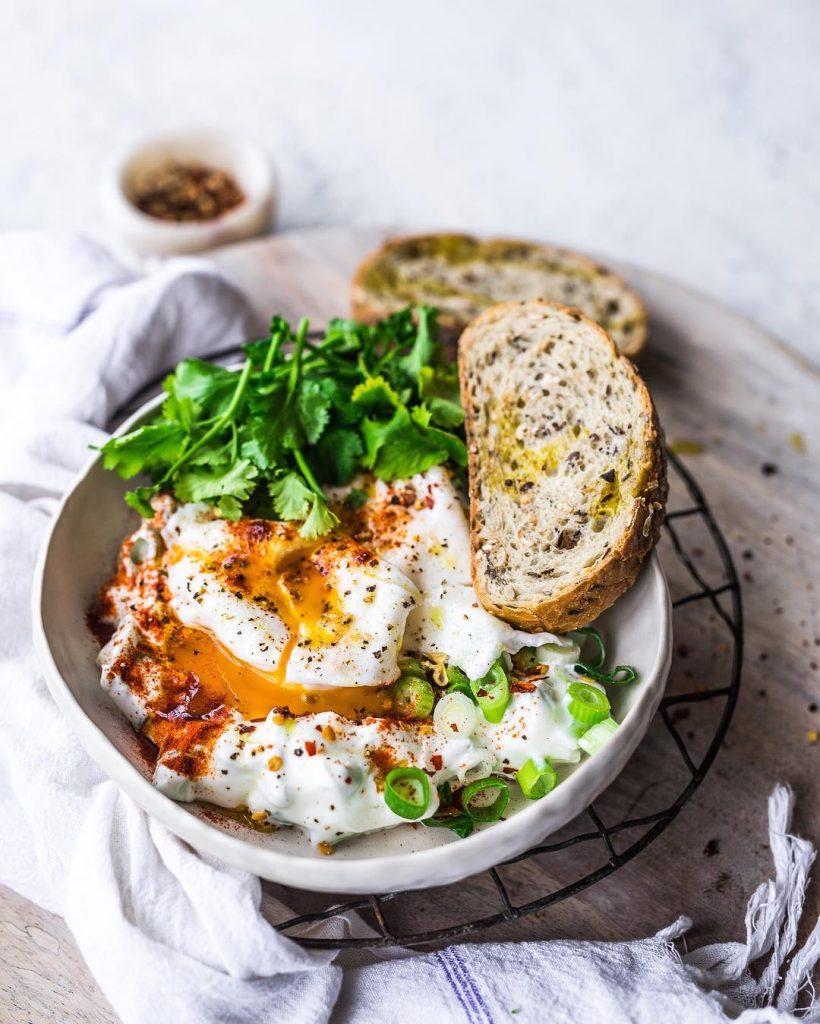 Turkish eggs + sourdough